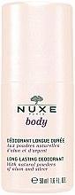 Парфюми, Парфюмерия, козметика Дезодорант рол-он - Nuxe Body Long-Lasting Deodorant