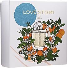 Парфюмерия и Козметика Chloe Love Story - Комплект (парф. вода/50ml + лос. за тяло/100ml)