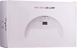 Парфюмерия и Козметика LED-лампа за нокти, 18W/36W - MylaQ