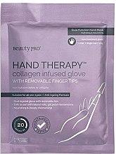 Парфюми, Парфюмерия, козметика Антистарееща маска за ръце - BeautyPro Hand Therapy Collagen Infused Glove