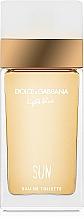 Парфюмерия и Козметика Dolce&Gabbana Light Blue Sun Pour Femme - Тоалетна вода