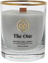 Парфюмерия и Козметика Декоративна свещ в чаша, 8х9.5см - Artman Organic The One
