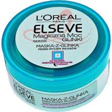 Парфюми, Парфюмерия, козметика Маска за нормална и склонна към омазняване коса с глина - L'Oreal Paris Elseve Extraordinary Clay Mask