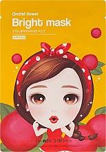 Парфюмерия и Козметика Изсветляваща маска за лице от плат - The Orchid Skin Orchid Flower Bright Mask