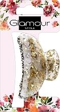 Парфюмерия и Козметика Шнола за коса, 417624, златиста с камъчета - Glamour