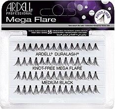 Парфюми, Парфюмерия, козметика Изкуствени мигли - Ardell Duralash Knot Mega Flare Medium Black