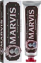 Парфюмерия и Козметика Паста за зъби - Marvis Black Forest