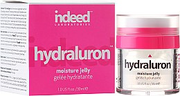Парфюми, Парфюмерия, козметика Хидратиращо желе за лице - Indeed Labs Hydraluron Moisture Jelly