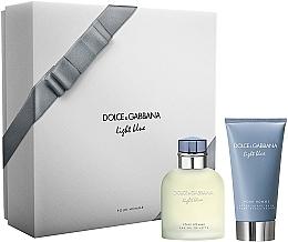 Парфюмерия и Козметика Dolce & Gabbana Light Blue Pour Homme - Комплект (edt/75ml + ash/balm/75ml)