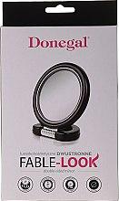 Огледало на поставка, 12 см, 9504, черно - Donegal Mirror — снимка N2