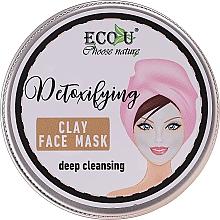 Парфюмерия и Козметика Дълбоко почистваща маска за лице - Eco U Detoxifying Deep Cleansing Clay Face Mask