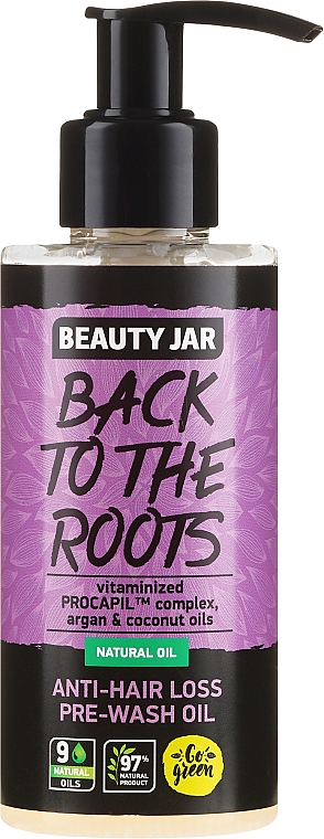 Масло против косопад - Beauty Jar Back To The Roots Pre-wash Oil