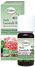 Парфюмерия и Козметика Органично етерично масло от бурбонски здравец - Galeo Organic Essential Oil Geranium Bourbon