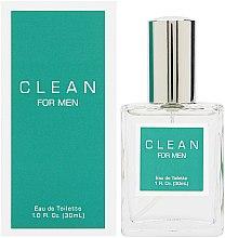 Парфюмерия и Козметика Clean For Men - Тоалетна вода