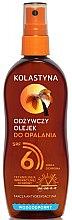 Парфюмерия и Козметика Водоустойчиво масло-спрей за тен - Kolastyna SPF6
