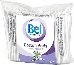 Парфюмерия и Козметика Клечки за уши от микрофибър, 160 бр. - Bel Cotton Buds