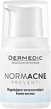 Парфюми, Парфюмерия, козметика Регулиращ-почистващ нощен крем - Dermedic NormAcne Regulating-Cleansing Night Cream