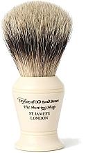 Парфюмерия и Козметика Четка за бръснене, S375 - Taylor of Old Bond Street Shaving Brush Super Badger size M