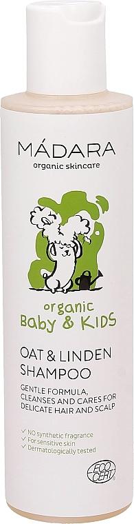 Шампоан за коса с овес и липа - Madara Cosmetics Ecobaby Mild Baby Shampoo — снимка N1