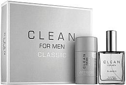 Парфюми, Парфюмерия, козметика Clean Clean For Men Classic - Комплект (тоал. вода/60ml + део/75g)