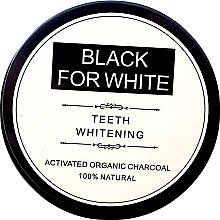 Парфюмерия и Козметика Избелващ прах за зъби с активен въглен - Biomika Black For White Teeth Whitening
