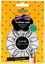 Парфюмерия и Козметика Комплект изкуствени нокти с лепило, 3011 - Donegal Joyme Fashion Nail