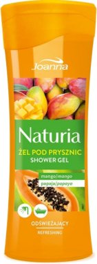 "Душ гел ""Манго и папая"" - Joanna Naturia Mango and Papaya Shower Gel — снимка N1"