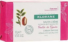 Парфюмерия и Козметика Сапун - Klorane Cupuacu Fig Leaf Cream Soap