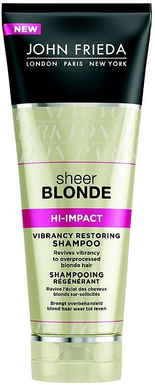 Регенериращ шампоан за руса коса - John Frieda Sheer Blonde Flawless Recovery Shampoo