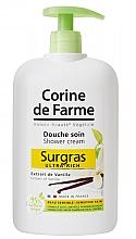 """Парфюмерия и Козметика Душ крем """"Ванилия"""", за нормална и чувствителна кожа - Corine De Farme Shower Cream"""