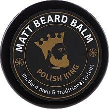 Парфюми, Парфюмерия, козметика Матиращ балсам за брада - Polish King Matt Beard Balm