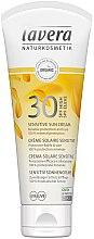 Парфюми, Парфюмерия, козметика Слънцезащитен крем за чувствителна кожа - Lavera Sensitive Sun Cream SPF 30