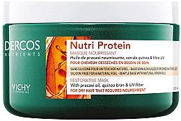 Парфюми, Парфюмерия, козметика Възстановяваща маска за коса - Vichy Dercos Nutrients Nutri Protein Restorative Mask