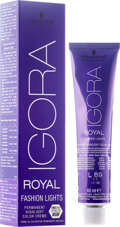 Боя за коса - Schwarzkopf Professional Igora Royal Fashion Lights
