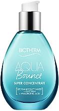 Парфюмерия и Козметика Успокояващ и хидратиращ концентрат за лице - Biotherm Aqua Bounce Super Concentrate Plump