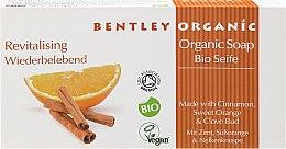 Парфюмерия и Козметика Тонизиращ сапун - Bentley Organic Body Care Revitalising Soap Bar