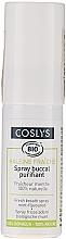Парфюмерия и Козметика Освежаващ спрей за уста с органична мента - Coslys Fresh Breath Spray Organic Mint