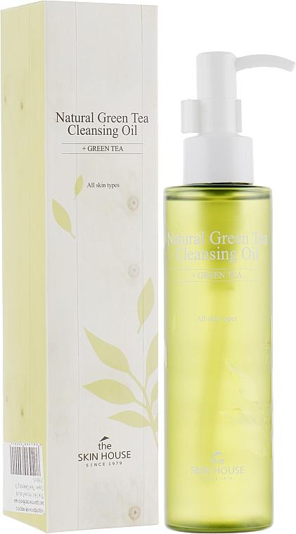 Хидрофилно масло за лице с екстракт от зелен чай - The Skin House Natural Green Tea Cleansing Oil