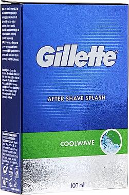 "Афтършейв ""Фреш"" - Gillette Series Cool Wave After Shave Splash for Men — снимка N1"