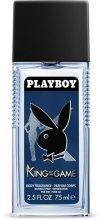 Парфюмерия и Козметика Playboy King Of The Game - Парфюмен дезодорант спрей
