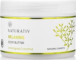Парфюми, Парфюмерия, козметика Масло за тяло с изглаждащ ефект - Naturativ Relaxing Body Butter Lemongrass