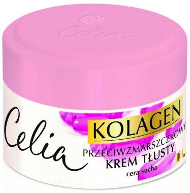 Крем против бръчки за суха кожа - Celia Collagen Cream
