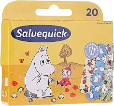Парфюмерия и Козметика Детски пластири - Salvequick Moominki