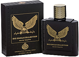 Парфюмерия и Козметика Real Time Big Eagle Collection Black - Тоалетна вода