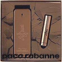 Парфюми, Парфюмерия, козметика Paco Rabanne 1 Million - Комплект тоалетна вода (edt/100ml + edt/10ml)