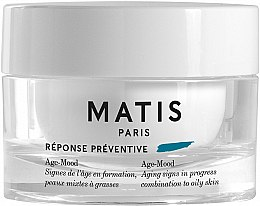 Парфюмерия и Козметика Антистареещ крем за комбинирана и мазна кожа - Matis Reponse Preventive Age-Mood