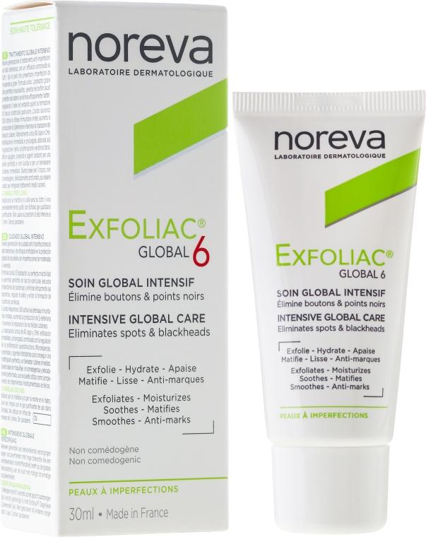 Крем за лице - Noreva Exfoliac Global 6 Severe Imperfections Cream