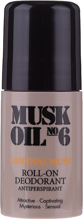 Дезодорант рол-он - Gosh Musk Oil No.6 Roll-On Deodorant