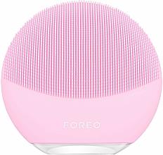 Парфюмерия и Козметика Четка за почистване и комплексен масаж на лице - Foreo Luna Mini 3 Facial Cleansing Brush Pearl Pink