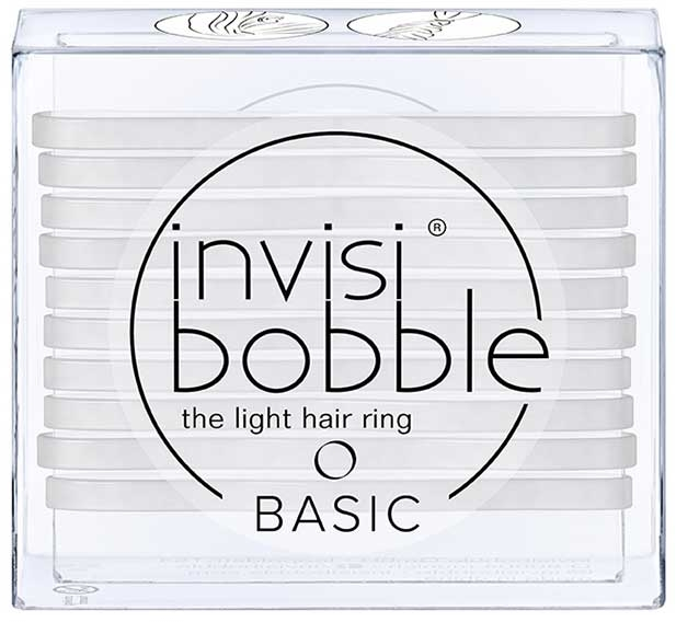 Комплект ластици за коса - Invisibobble Basic Crystal Clear — снимка N1